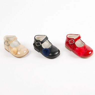Zapato pompón BAYON