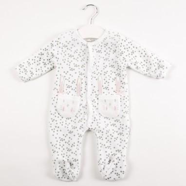 Pijama tundosado bolsillo conejitos BAYON