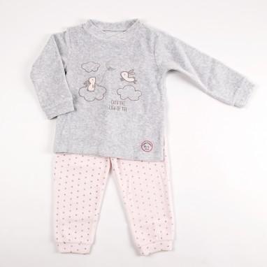 Pijama 2 piezas tundosado conejitos BAYON