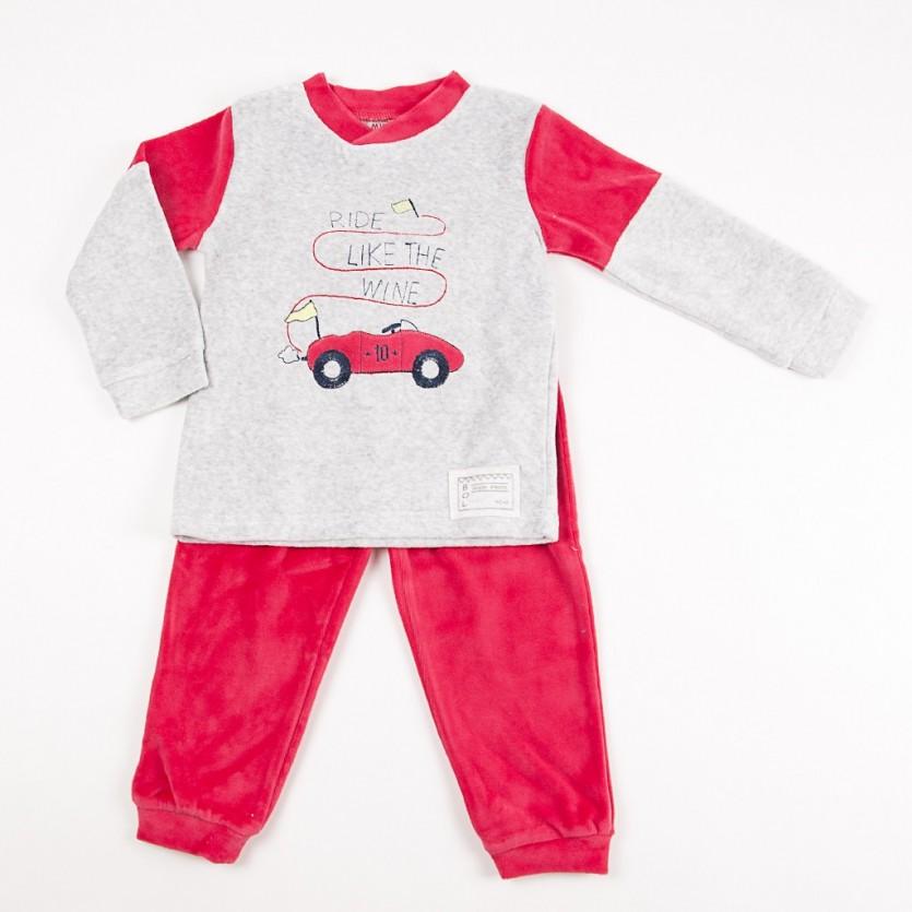 Pijama 2 piezas tundosado coche BAYON