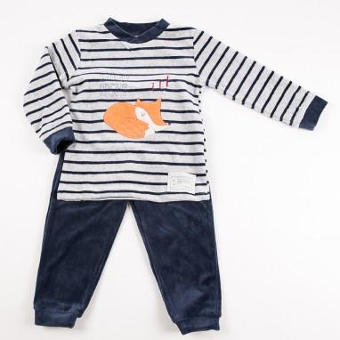 Pijama 2 piezas tundosado zorro BAYON