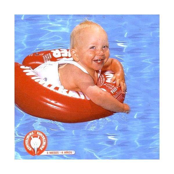 Flotador especial swimtrainer FREDS rojo 0-4 años