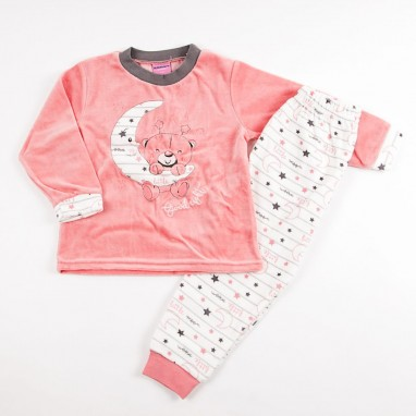 Pijama 2 piezas tundosado niña BAYON