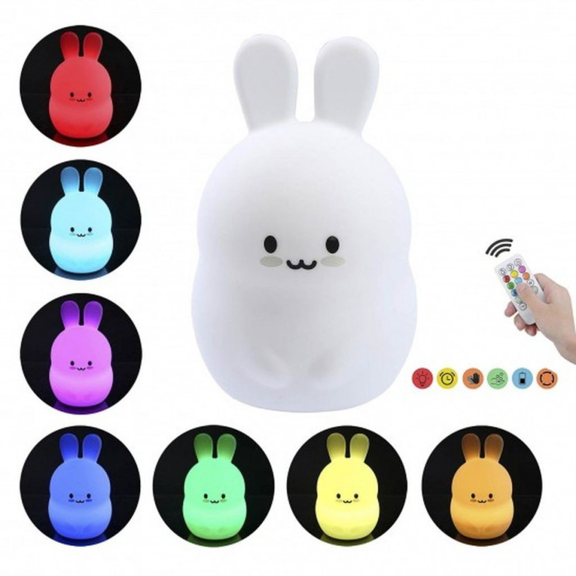 Lampara infantil Rabbit HAPPY HAY