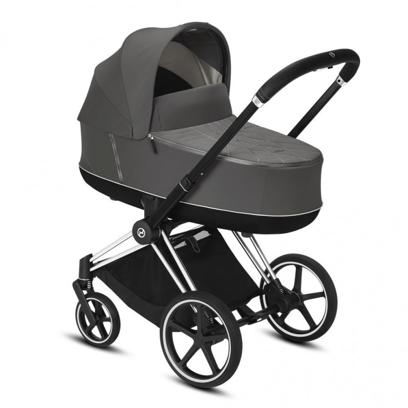 Coche Priam chasis chrome CYBEX