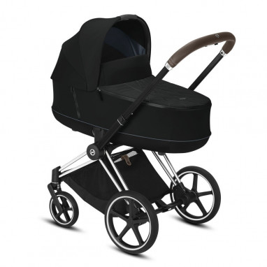 Coche Priam chasis chrome Brown CYBEX