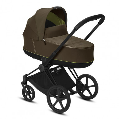 Coche Priam chasis Matt Black CYBEX