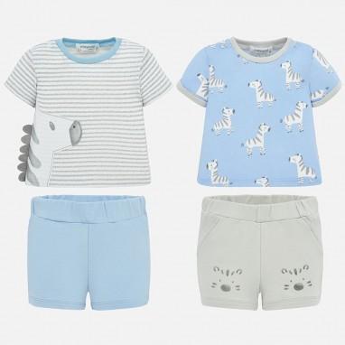 Pijama corto cebra MAYORAL 1 Ud