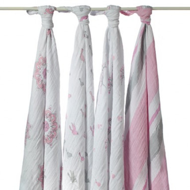 Muselina fular swaddle aden anais for the birds 1 ud