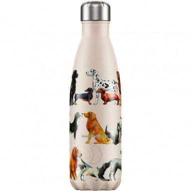 Termo acero inoxidable CHILLYS Dogs emma bridgewater