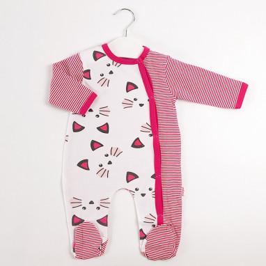 Pijama manga larga rayas BAYON