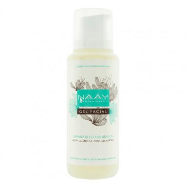 Gel limpiador facial aloe, caléndula y centella asiática 200 ml NAAY