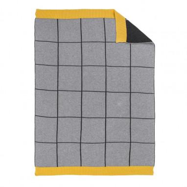 Manta tricot PETIT PRAIA Rocket 90x70 cm