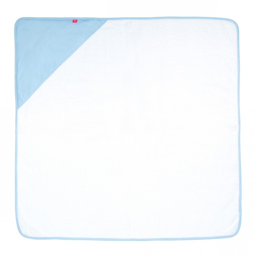 Capa de baño 100x100 cm be giraffe azul - CAMBRASS