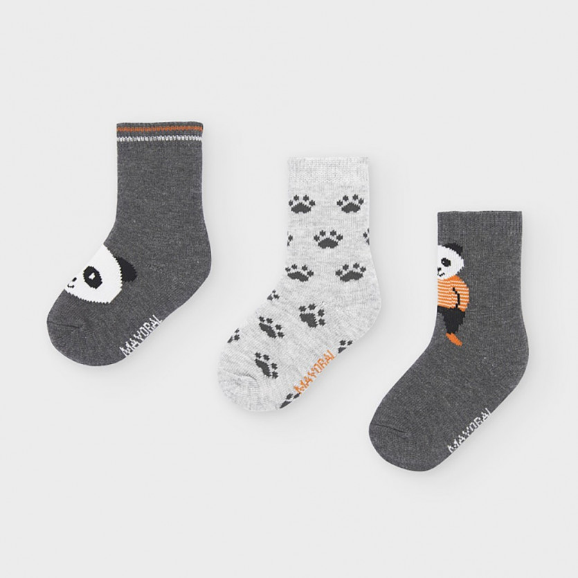 Pack 3 calcetines panda MAYORAL