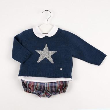 Conjunto 3 piezas jersey estrellas BAYON