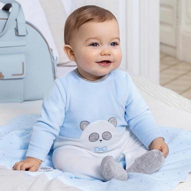 Pijama tundosado panda MAYORAL