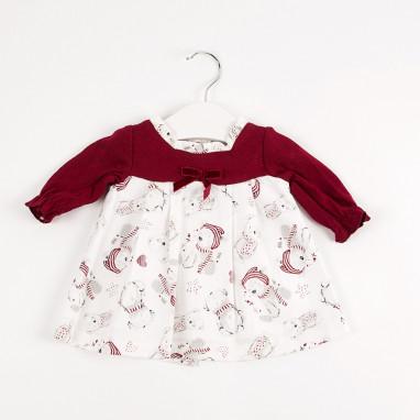 Vestido bebé combinado BAYON