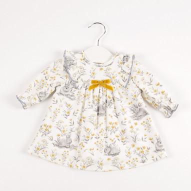 Vestido bebé conejitos BAYON