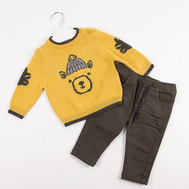 Conjunto jersey oso y pantalon BAYON