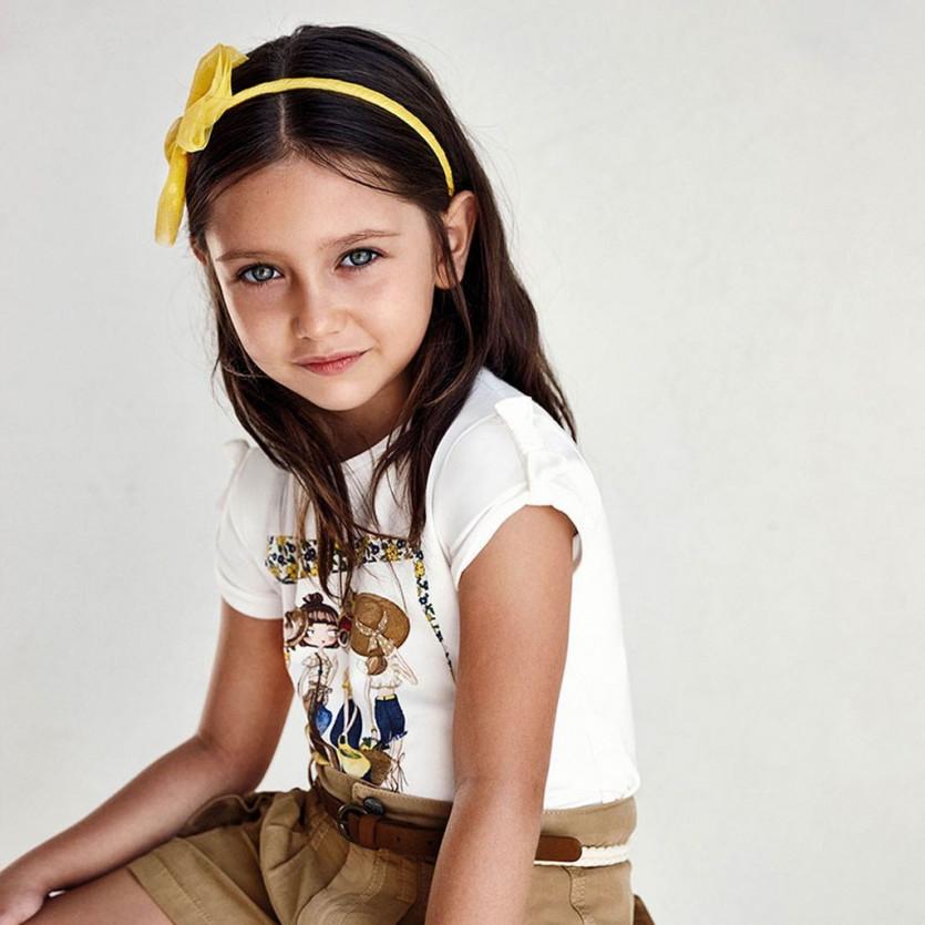 Camiseta m/c grupo niñas MAYORAL