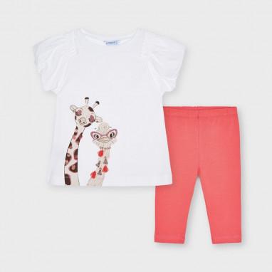 Conjunto leggings jirafa MAYORAL