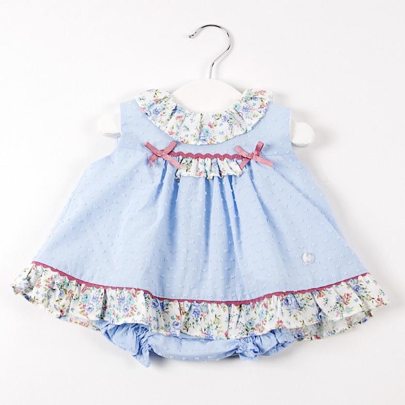 Vestido jesusito bebe Florencia BAYON