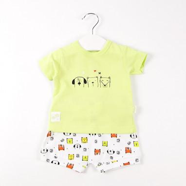 Conjunto camiseta y short animals BAYON