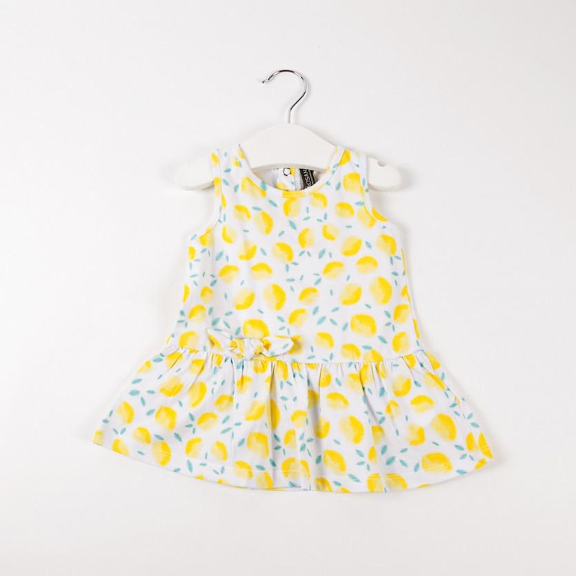 Vestido estampado limones LOSAN