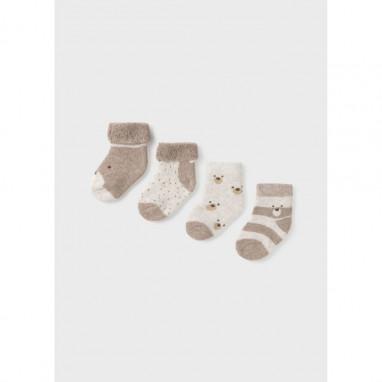 Set 4 calcetines recien nacido MAYORAL