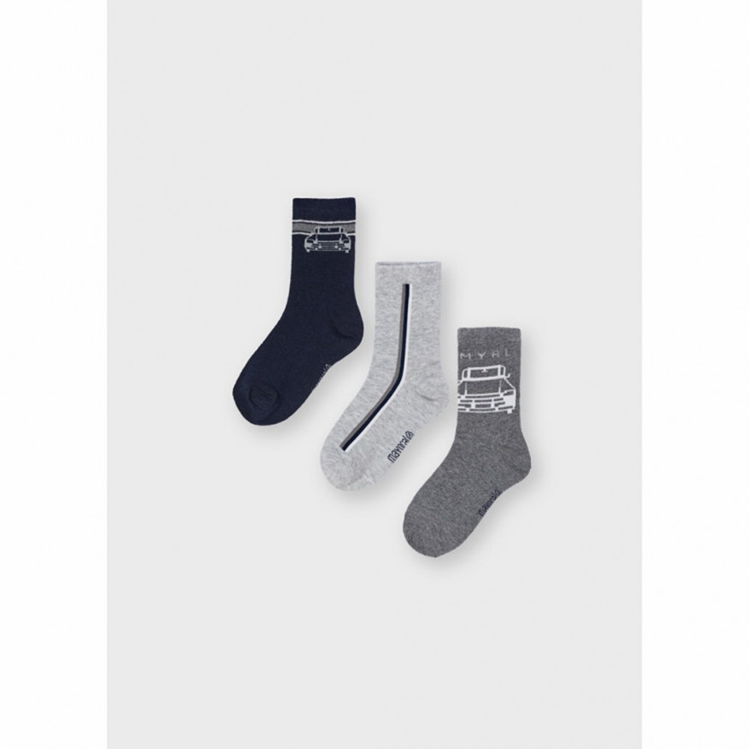 Pack 3 calcetines coche MAYORAL