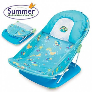 Hamaca de baño SUMMER Splish Splash Blue