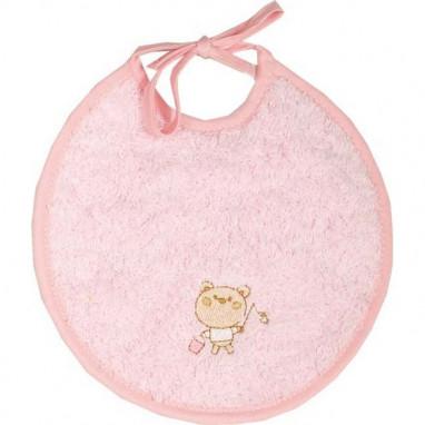 Babero pequeño forcada rosa