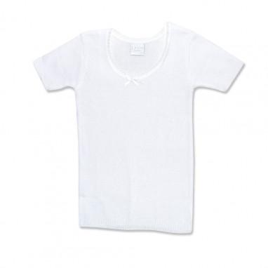 Camiseta interior manga corta niña DIACAR