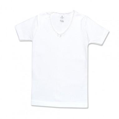 Camiseta termica manga corta niña BABIDU