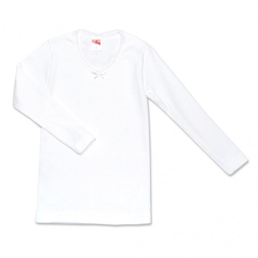 eecb3c2ce Comprar Camiseta termica manga larga niña BABIDU - BAYON