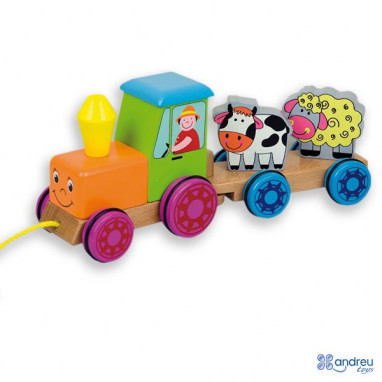 Tractor animales ANDREU TOYS