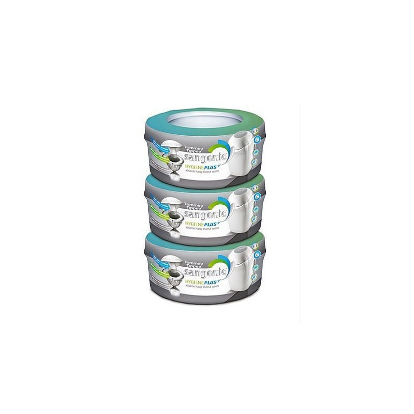 Pack 3 recambios hygienic plus - sangenic