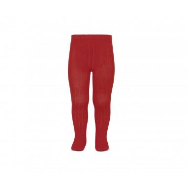 Leotardo canalé cóndor 550 rojo