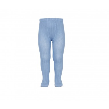 Leotardo canalé cóndor 446 azulado