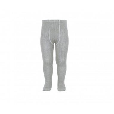 Leotardo canalé cóndor 221 gris claro