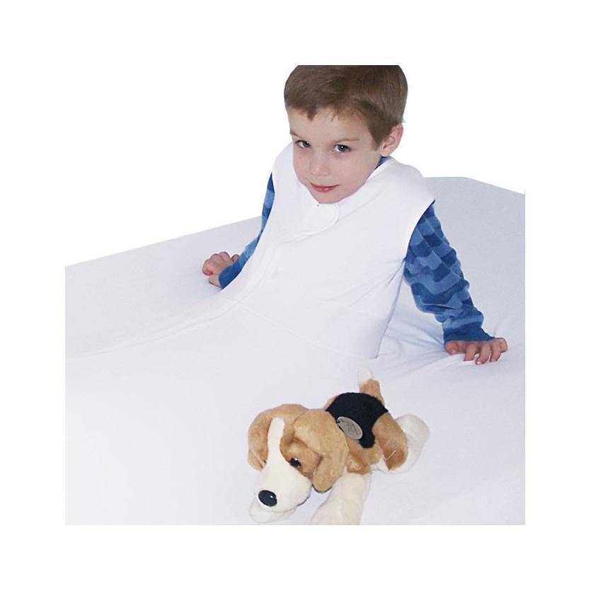 Sabana de protección y seguridad 100% algodón para cama