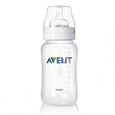 Biberón classic de 330 ml (sin bpa) flujo variable philips avent