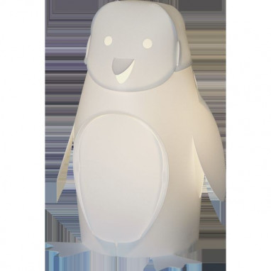 Lampara de mesa zzzoolight pinguino
