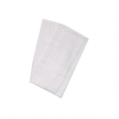Pack 2 gasas absorbentes 100% algodón bayon blanco