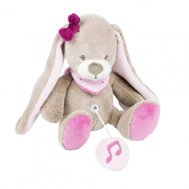 Mini Musical Nina the bunny NATTOU