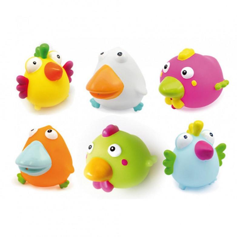 Comprar set de 6 juguetes ba o birdies olmitos 0 meses - Juguetes bebe 6 meses ...