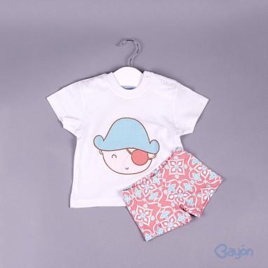 Conjunto camiseta pirata y bañador BAYON