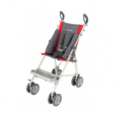 Soporte lateral para silla major elite maclaren rojo carbon