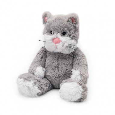 Peluche semillas Cozy plush WARMIES Gato tumbado